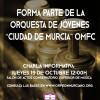 Charla Informativa Orquesta