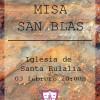 Misa San Blas