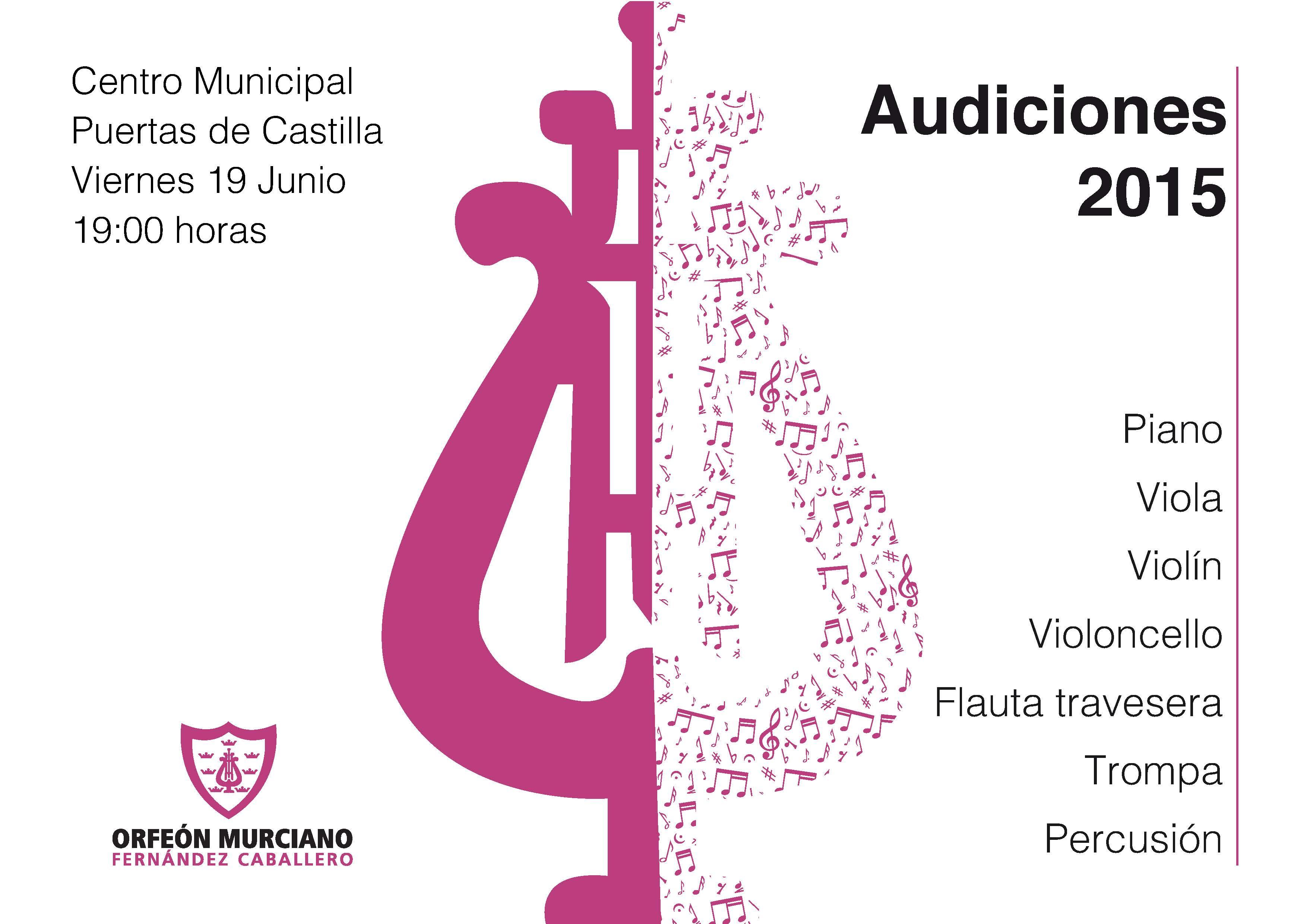 Audición 2015