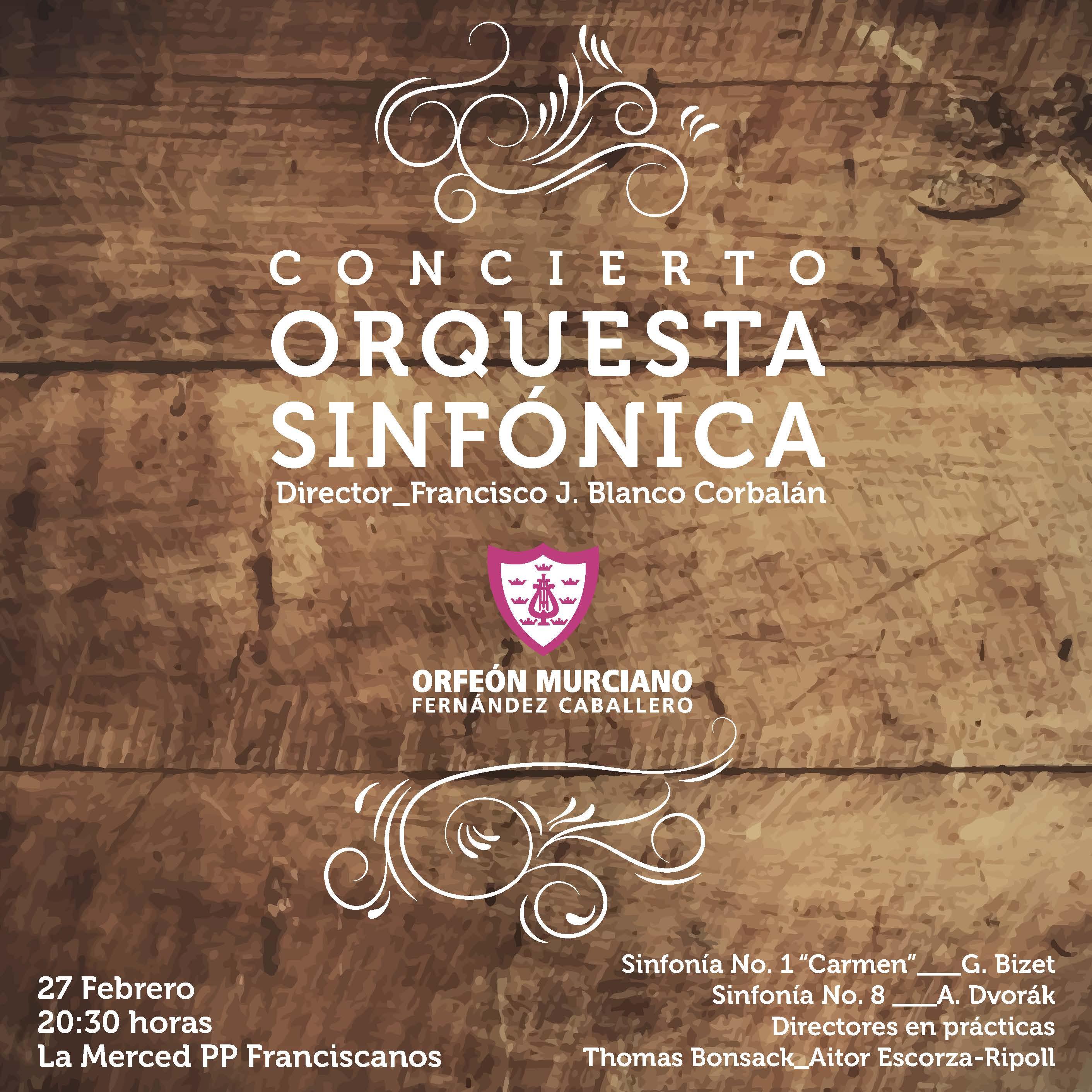 concierto orquesta Sinfónica